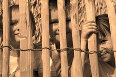 дети троповые Стоковое Фото