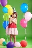дети дня рождения Стоковые Изображения