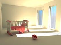 дети s спальни Стоковые Фото