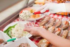 деятельность магазина butcher Стоковое фото RF