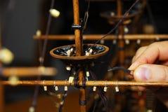 Делать деревянную шлюпку Стоковое Фото