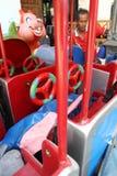 Делающ дети волокно натренировать Стоковые Изображения RF
