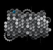 Дело компьютерной технологии футуристического интернета науки высокое Стоковое Изображение
