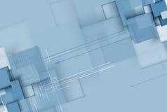 Дело & развитие предпосылки абстрактной технологии Стоковые Фотографии RF