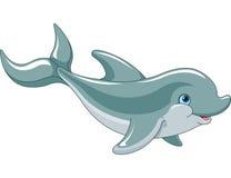 Дельфин заплывания Стоковые Изображения
