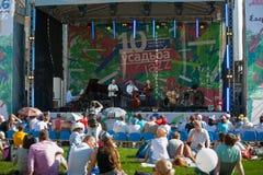Джазовый фестиваль Usadba Стоковое Изображение RF