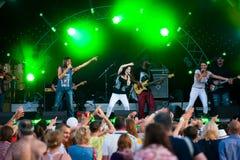Джазовый фестиваль Usadba Стоковое Фото