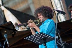 Джазовый фестиваль Usadba Стоковая Фотография RF