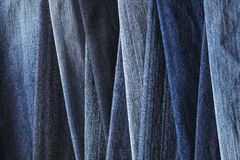 джинсовая ткань предпосылки Стоковые Изображения