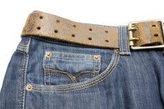 джинсыы Стоковая Фотография