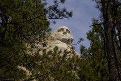 Джордж Вашингтон Mt Rushmore Стоковые Фото