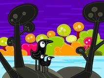 джунгли птиц Стоковые Фотографии RF