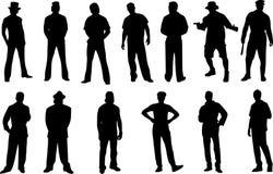 диаграмма изолированный человек Стоковые Фото