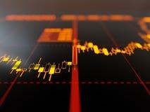 Диаграмма подсвечника Стоковые Фотографии RF