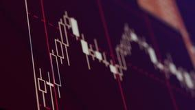 Диаграмма подсвечника Стоковые Изображения RF