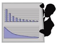 диаграмма дела Стоковое Изображение RF
