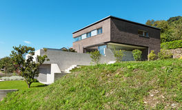 Дизайн архитектуры современный Стоковая Фотография RF
