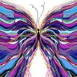 Дизайн бабочки вектора. Стоковое Изображение