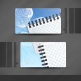 Дизайн визитной карточки Стоковое фото RF