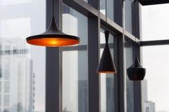 Дизайн интерьера лампы Стоковое фото RF