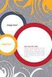 Дизайн листовки Стоковое Фото
