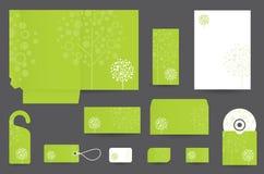 Дизайн канцелярских принадлежностей установленный Стоковые Изображения