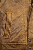 Дизайн кожаной куртки Стоковое фото RF