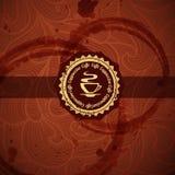 Дизайн концепции кофе Стоковые Изображения