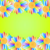 Дизайн маргариток вектора Стоковое Изображение RF