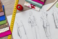 Дизайн моды Стоковое Изображение