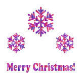 Дизайн Нового Года и рождества Стоковая Фотография