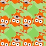 Дизайн предпосылки хомяка шаржа безшовный Стоковое Фото