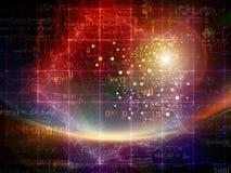 Дизайн частицы Стоковое Изображение