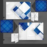Дизайн шаблона брошюры дела Стоковое Изображение