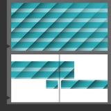 Дизайн шаблона брошюры Стоковые Изображения RF