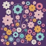 Дизайн шестерней Стоковое Изображение