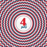 Дизайн Дня независимости Стоковая Фотография RF