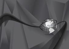 динамически мир карты Стоковая Фотография