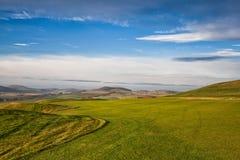 Длинний проход на поле для гольфа в Праге Стоковое Изображение