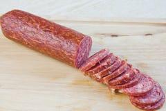 Длинний хлеец, который курят сосиска Стоковое фото RF