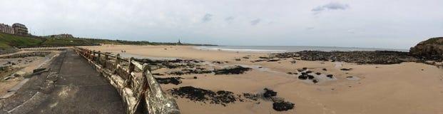 Длинное tynemouth песков Стоковые Изображения RF