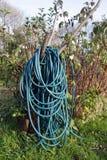 Длинный спиральный шланг воды Стоковая Фотография RF