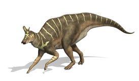 Динозавр Lambeosaurus Стоковое Изображение RF