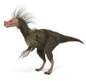 Динозавр Ornitholestes Стоковое Изображение
