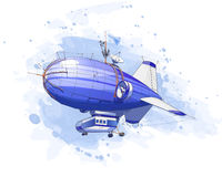 дирижабль воздушного шара Стоковое Фото