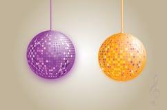диско шарика глянцеватое Стоковая Фотография
