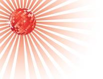 диско шарика светя Стоковая Фотография RF