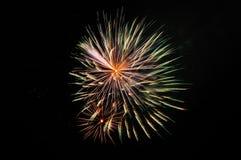 Дисплей фейерверков Стоковое фото RF