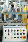 Дистанционное управление машины, конец-вверх Стоковое фото RF
