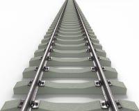 длинние текстурированные рельсы Стоковая Фотография RF